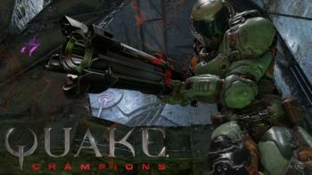 Quake champions: легенда возвращается!