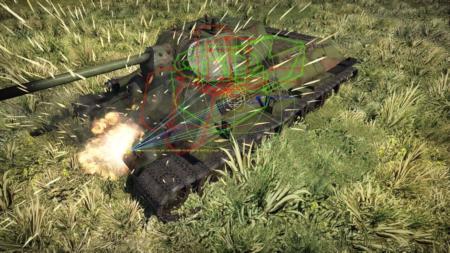 Модель повреждений танков в War Thunder: Снаряды и их особенности
