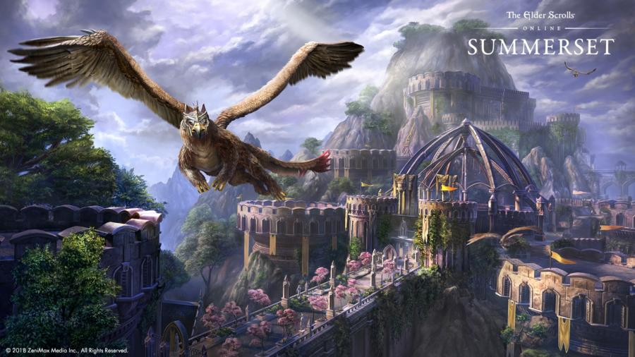 The Elder Scrolls Online: первые шаги по миру и острову Саммерсет