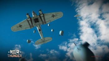Бомбардировщики в War Thunder