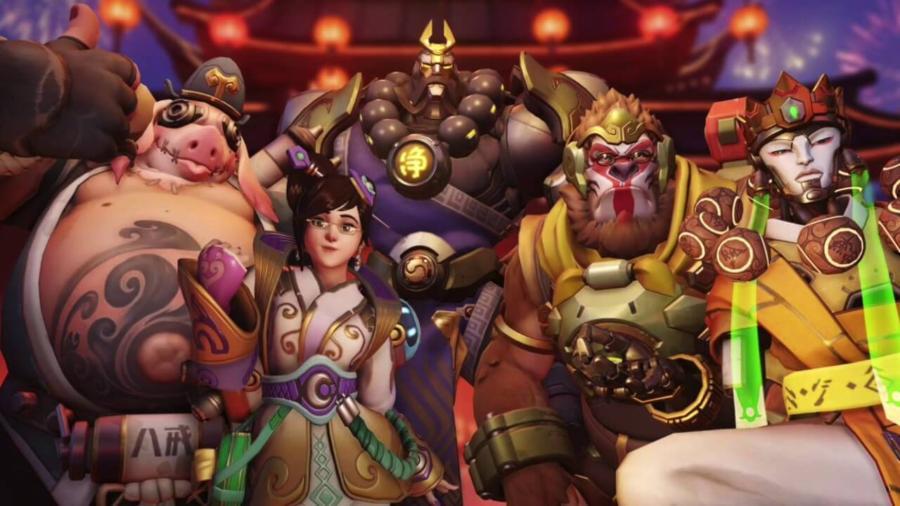 Бесплатные выходные в Overwatch по китайски.