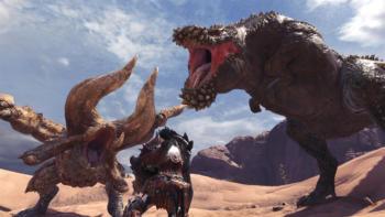 Разработчики Monster Hunter: World выпустили первое в истории бесплатное обновление