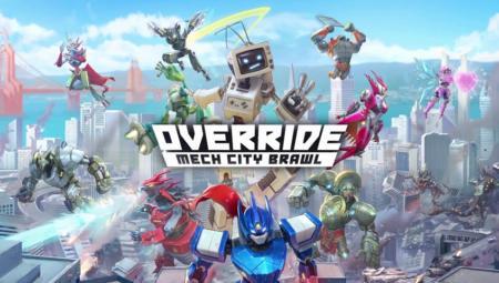 Override Mech City Brawl: страсть моя — гигантский робот!