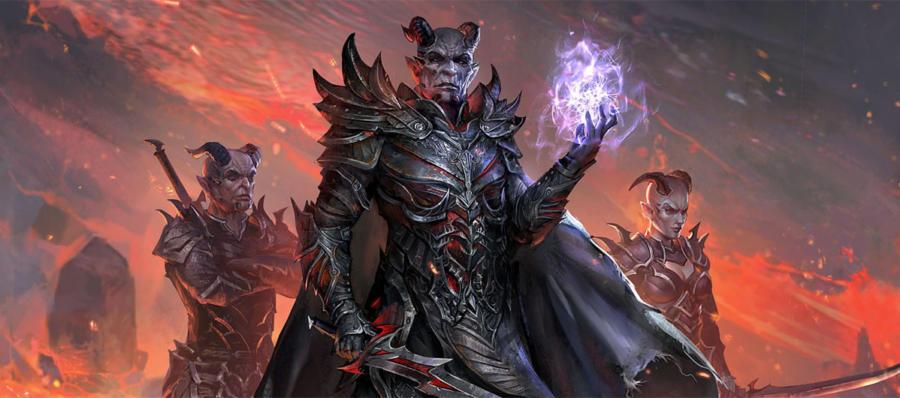 В The Elder Scrolls Legends началась война!