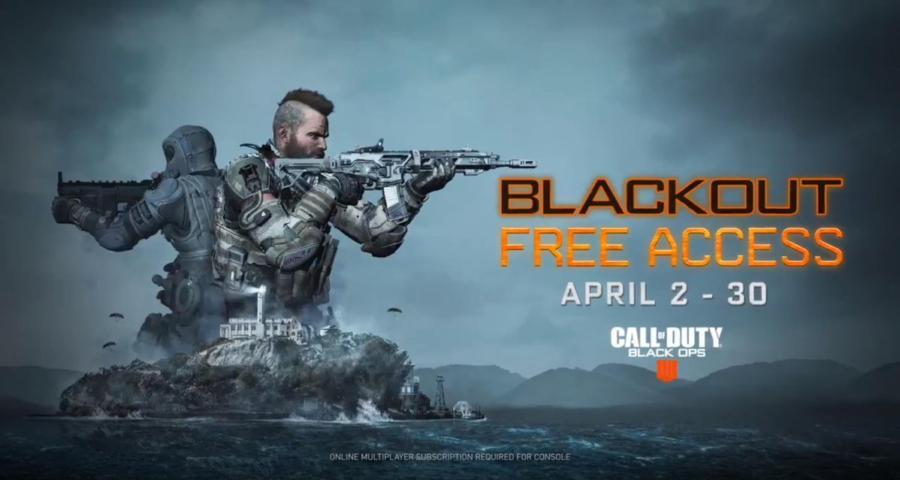 Королевскую битву  в Black Ops 4 дадут опробовать бесплатно