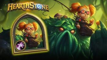 Чернокнижницу Немси бесплатно раздают в Hearthstone