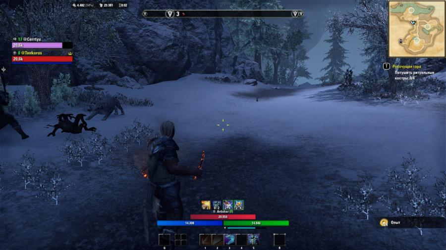 "The Elder Scrolls Online: Фанатский билд некромант - танк ""псих одиночка""."