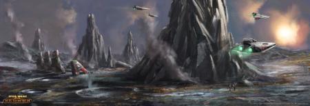 Star Wars MMO вышла в steam