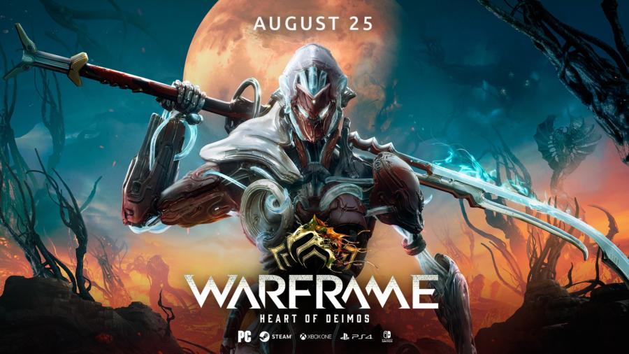 25 августа всех игроков Warframe ждет перезагрузка