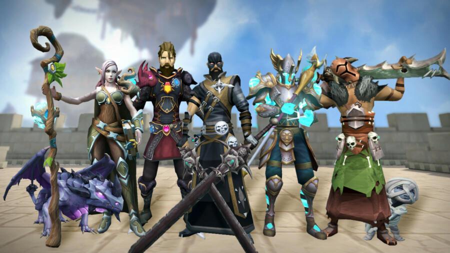 RuneScape выйдет в Steam