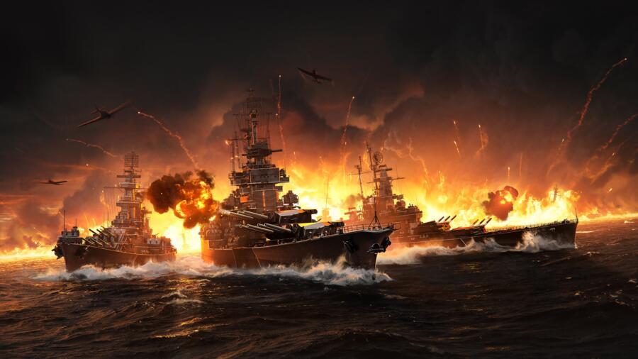 Новый год приходит в World of Warships вместе с ивентом и обновлением 0.9.11.