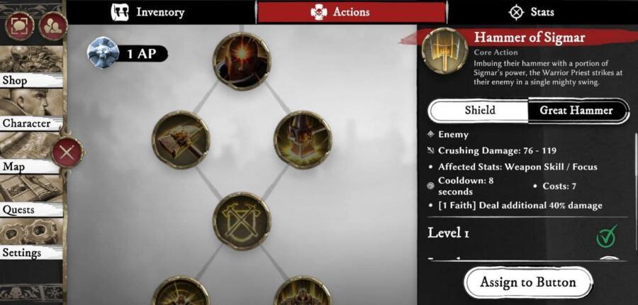 Первые впечатления от мобильной MMORPG Warhammer Odyssey