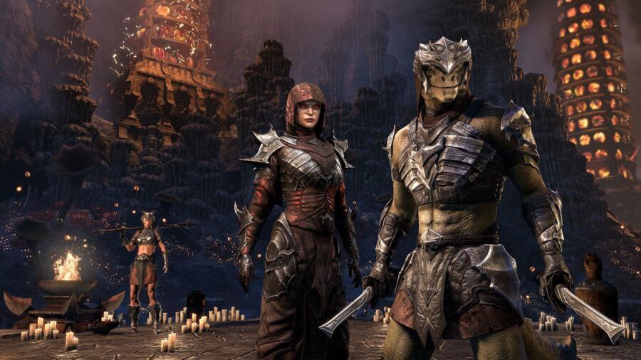 для The Elder Scrolls Online вышло дополнение Врата Обливиона
