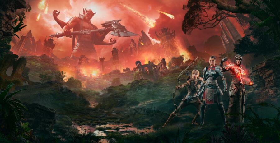Врата в Обливион открылись в The Elder Scrolls online
